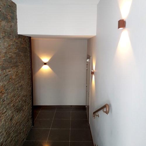 Aménagement du hall d\'entrée de la résidence Les Ateliers ...